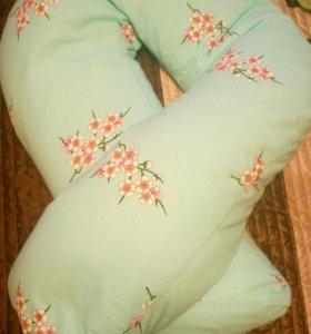 Подушка для беременных + подушка для кормления
