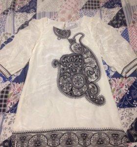 Туника , платье шёлк