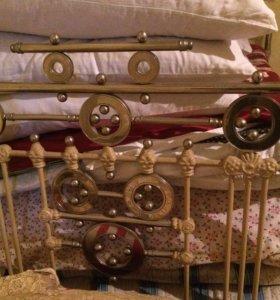 Кровать Никель