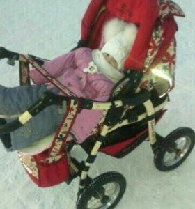 Продам коляску Bebetto Super Kid зима-лето