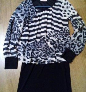 Платье-блуза