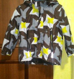 Зимняя куртка Reima, флисовый ко