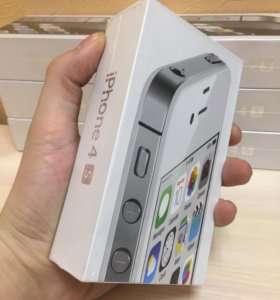 Айфон 4 S 16gb Новый, Запечатанный, Белый