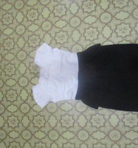платье с баской+ подарок