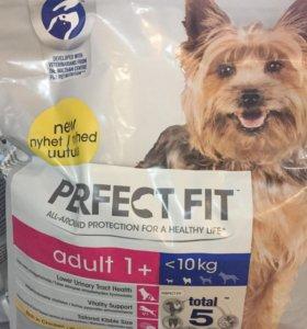 Корм для собак perfect fit