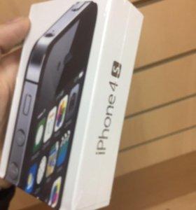 Айфон 4 S 16gb Новый, Запечатанный