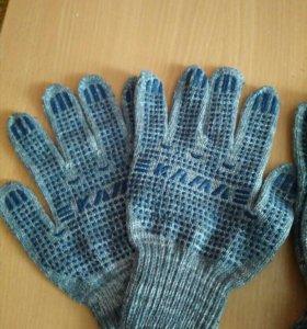 Перчатки х б
