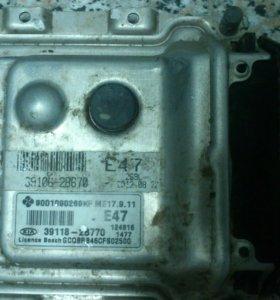 Блок управления двигателем Киа Рио 3 от 2011