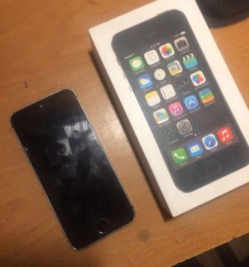 iPhone 5 s 64 gb space gray