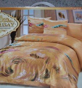набор постельного белья под шелк