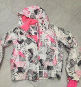 Комплект куртка и полукомбинезон  жен 48-50 р