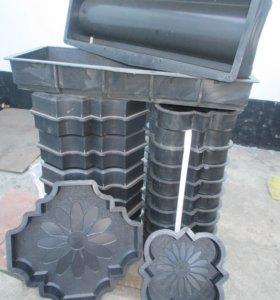 +формы для изготовления тротуарной плитки новые