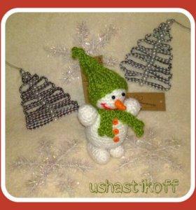 Новогодние снеговички