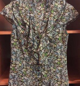 Шифоновая блузка 40-42 р-р