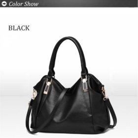 Новая черная сумка кожзам