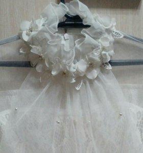 Красивая блуза и юбка! Все новое.