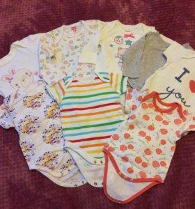 Одежда для девочки 0-4 месяца