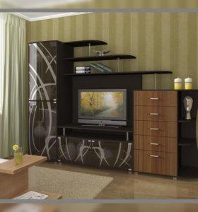 Стенка гостиная Нота - 16 от тхм-кавказ