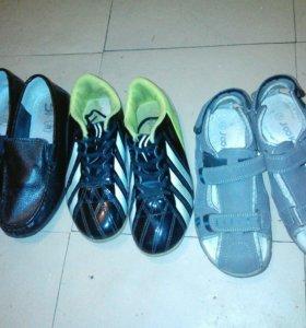 Детская обувь для мальчиков.