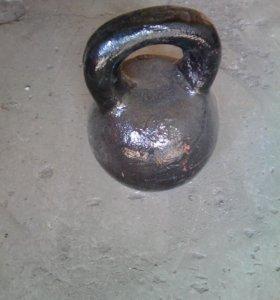 Гиря 32 кг,24 , 16 кг обмен на кислородный баллон