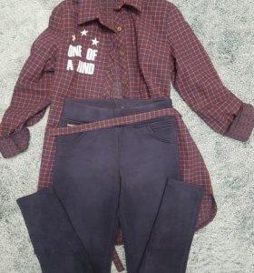 Рубашка и легги