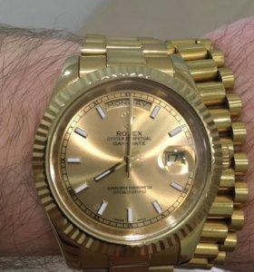 Часы с браслетом механика автоподзавод на гарантии