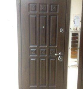 Новая входная дверь аркадия