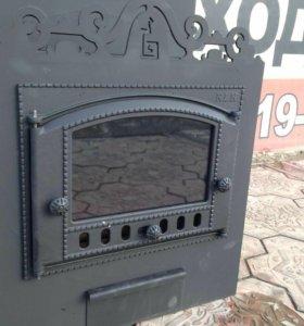 Банная печь с нерж баком