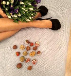 """Букет """"Волшебный"""" Тюльпаны + Ирисы"""