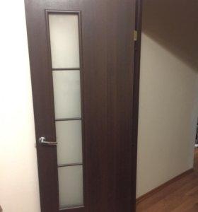 Дверь межкомнатная, б/у