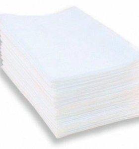 Полотенце в индивидуальном сложении 35х70 50шт