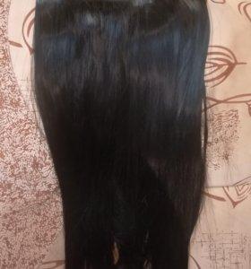 Искуственные волосы на заколках