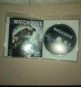 Игра Watch dogs для ps3.