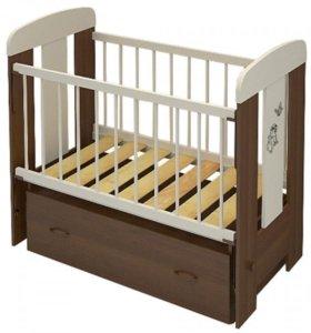 Кроватка Зайка bayboom