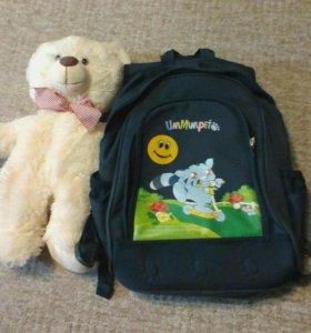 Школьный рюкзак сзеркальным отрожатилем