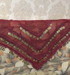 Пояс-платок на бедра с монистами