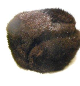 Шапка из меха ондатры