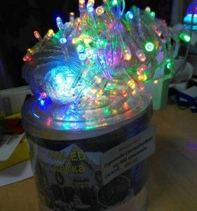 Гирлянда-сетка диодная на 400 лампочек