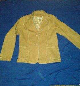 Джинсовый пиджак max mara