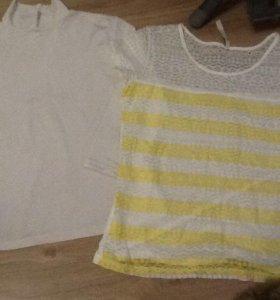 Водолазка и блузка размер 40-42