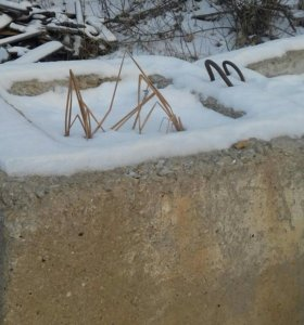 Ж/б стаканы для бетонного забора