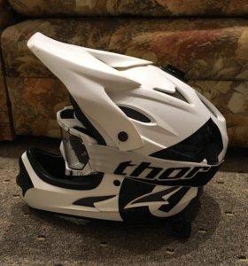 Шлем фуллфейс 661 SixSixOne Comp для мото и вело