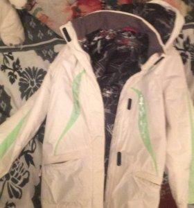 куртка весенняя(ну может и на зиму)