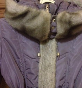 Теплая куртка 9-10 лет