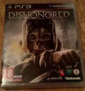 Игра на PS3 Dishonored