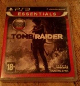 Игра на PS3 TOMB RAIDER 18+