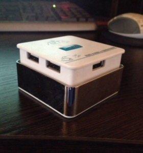 Card reader + USB hub