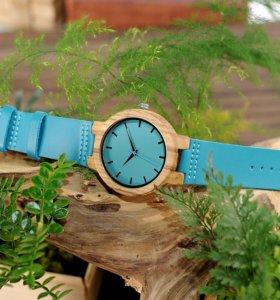 """Оригинальный подарок - Часы из дерева """"Bobo bird"""""""