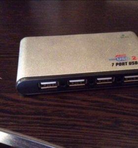 USB Hub 7в1