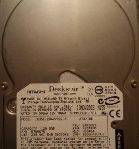 Жеский диск HITACHI